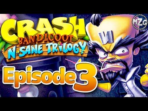Cortex is DEFEATED! - Crash Bandicoot N. Sane Trilogy - Episode 3 (Crash Bandicoot 1)