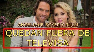 ANGELIQUE BOYER EXPLOTA TRAS QUEDAR FUERA DE TELEVISA ya NO ACTUARA EN TELENOVELAS.