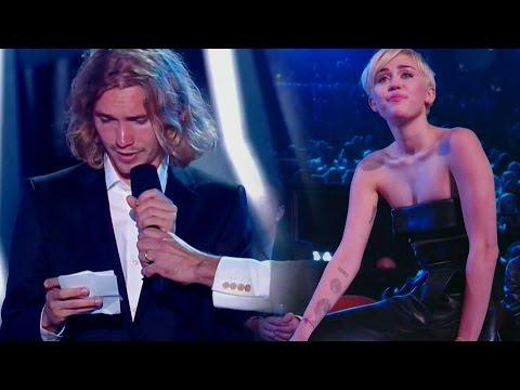 Miley Cyrus' Powerful Acceptance Speech