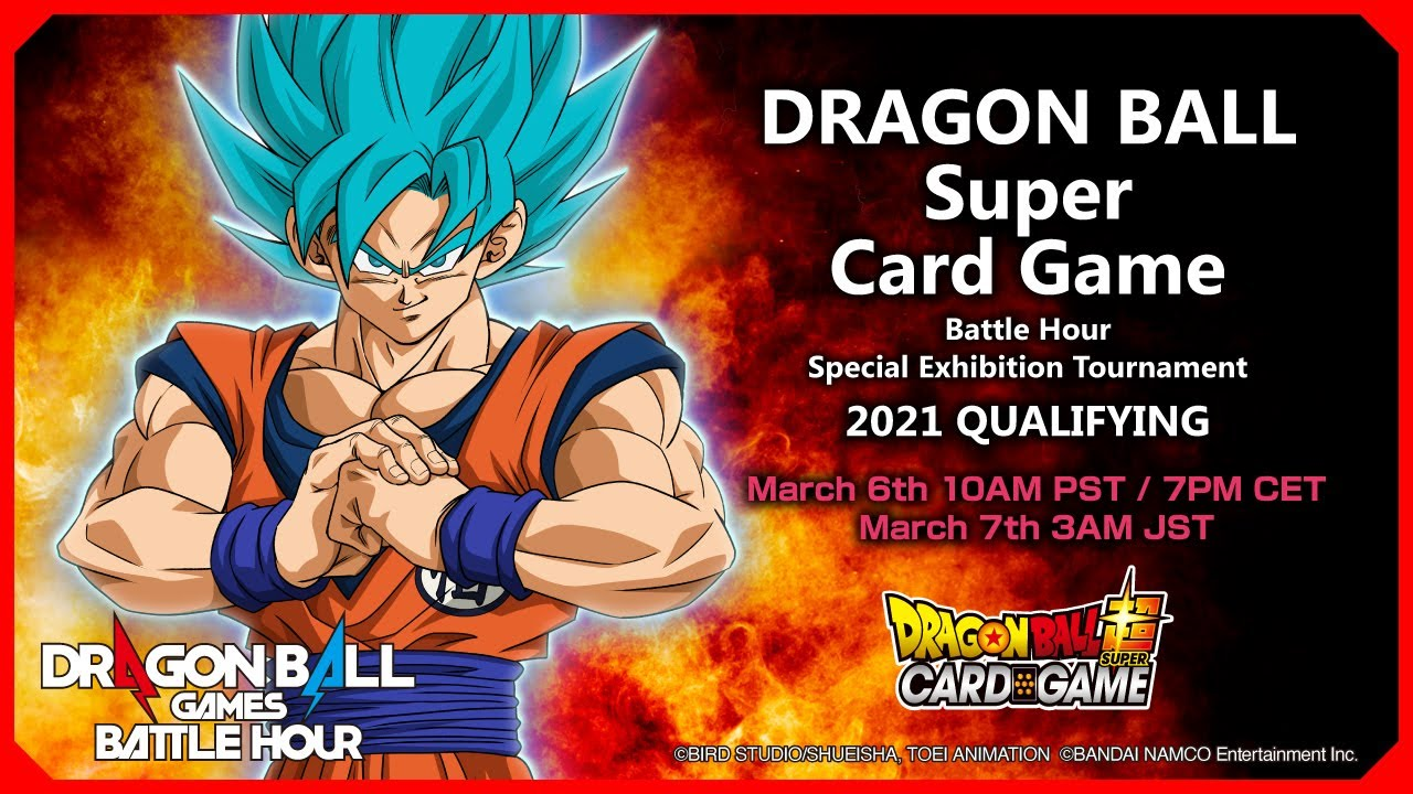 DRAGON BALL Super Card Game Battle Hour Special Exhibition Tournament 2021: QUALIFYING
