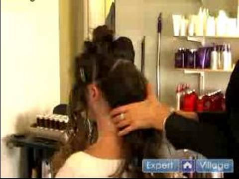 Wedding Day Hairstyles : Three Ponytail Up-Do Hairstyle: Wedding Hairstyles