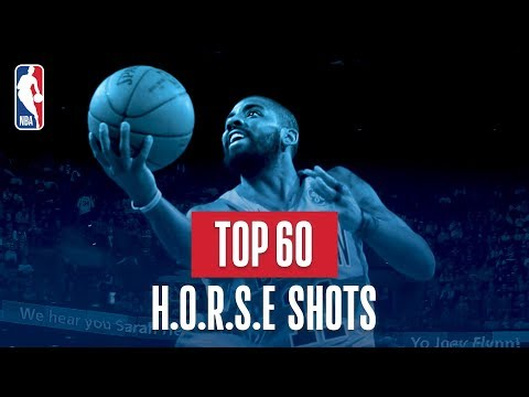 Top 60 H-O-R-S-E Shots: 2018 NBA Season (видео)