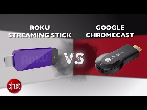 streaming - http://cnet.co/OiV5bl It's a first time ever streaming stick Prizefight Punchout! Roku and Google bring different things to the table, but only one can reign...