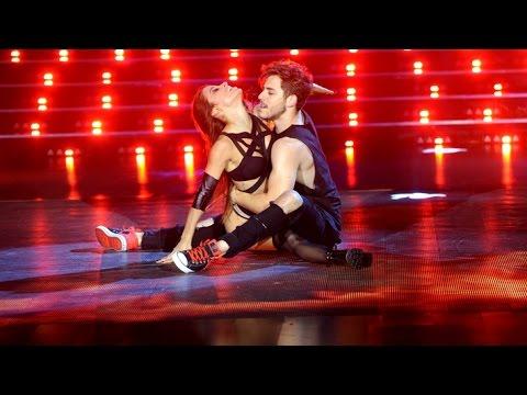 Lourdes Sánchez y Fernando Dente #Showmatch #Bailando2015