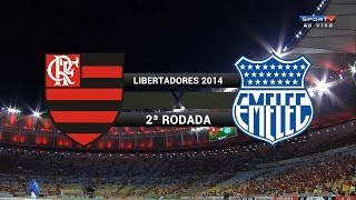 COPA BRIDGESTONE LIBERTADORES 2014 Fase de Grupos - 2ª Rodada Estádio Jornalista Mário Filho, Rio de Janeiro, RJ Siga - http://twitter.com/sovideoemhd Curta ...