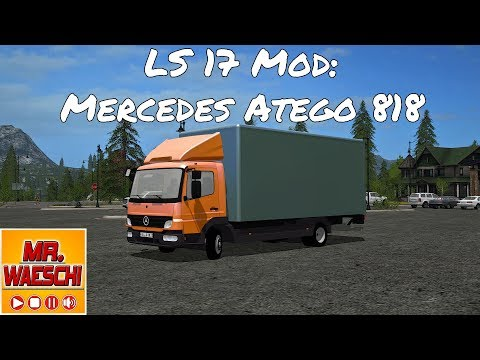 Mercedes Benz Atego 818 with accessories v1.0
