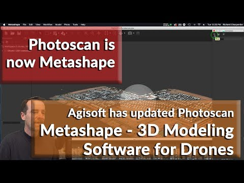 Agisoft's Photo Scan is now Metashape - 3D Drone Model creation software