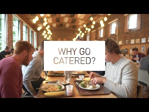 Why go catered?