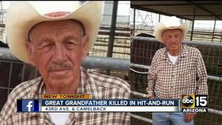 Family of great-grandfather killed in hit-and-run crash asking for leads