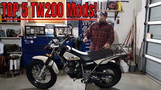 4. Top 5 Yamaha TW200 Mods