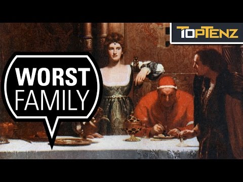 Top 10 Alleged Dark Facts About the Mysterious Borgia Family