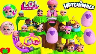 Video Hatching Hatchimals in Hatchery Nursery with LOL Surprise Dolls Lil Sister MP3, 3GP, MP4, WEBM, AVI, FLV Oktober 2017
