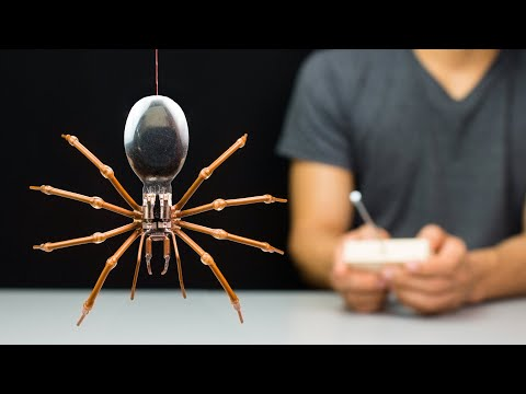 How To Make A Remote Controlled Spider Robot!!