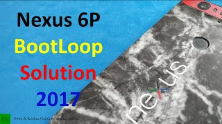 This video will guide you, How to Fix the Bootloop problem in your Nexus 6P. This is unofficial fix but seems to be working as of now. Follow the guideline to fix this problem.Links & Instructions : https://goo.gl/SoLQPK