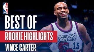 Vince Carter's BEST NBA Rookie Highlights | 1998-1999 NBA Season by NBA