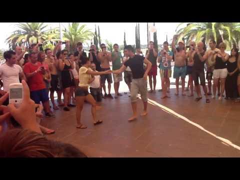 Kike y Fania in Tumba y Tumbao 2012 - workshop dance (видео)