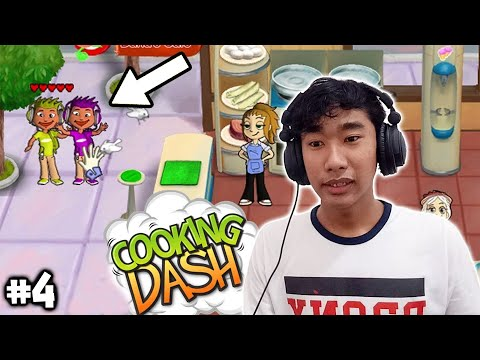 Kedatangan Anak Gamer - Cooking Dash (PC) Part 4