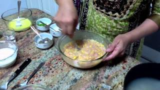 Please visit my blog at http://anjumskitchen.tumblr.com/ for the full recipe, quick & easy Delicious Chicken Corn Soup!