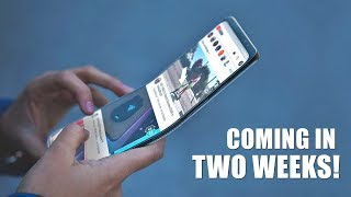Samsung Teases The Foldable Smartphone