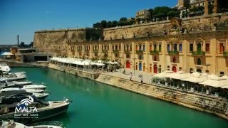 Valletta Malta  city photos gallery : Valletta and Three Cities Drone Footage, Malta