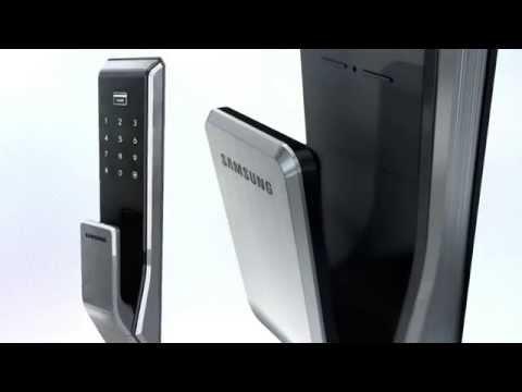 Samsung Door Locks SHS P718 Push Pull Concepts Digital Door Locks