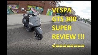 8. MotoVAS 2012 Vespa GTS 300 Super Scooter Review Chicago