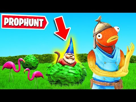PROP HUNT + HIDE AND SEEK (Fortnite Creative)