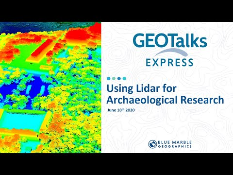 Using Lidar for Archaeological Research