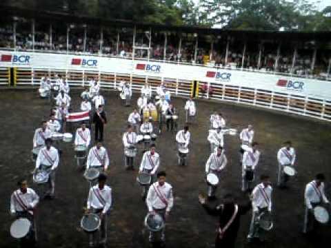 Banda Rítmica Liceo de Costa Rica - Festival de Bandas Fortuna 2011