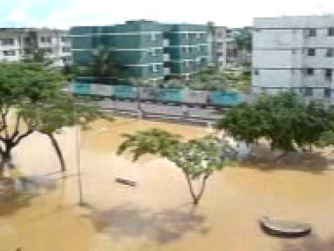 Chuva em Lauro de Freitas - ba / 14 e 15 de abril de 2010