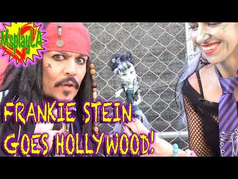 Frankie Stein Dress Up Games-  Monster High Goes Hollywood! on MsPlayLA