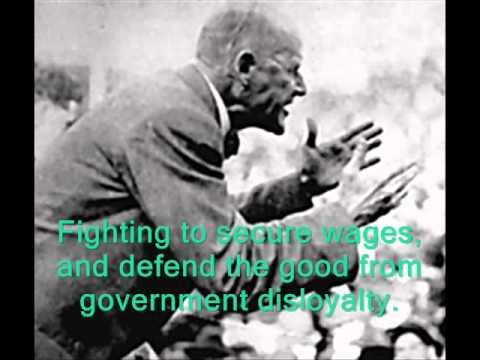 Eugene V. Debs Campaign-Ad