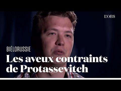 """L'opposant biélorusse Roman Protassevitch fait des aveux filmés """"sous la menace"""""""