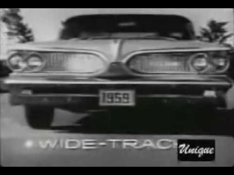 1959 Pontiac Car Of The Year Commercial