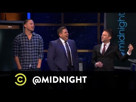 Midnight - Channing Tatum and Jonah Hill help the panelists figure out which