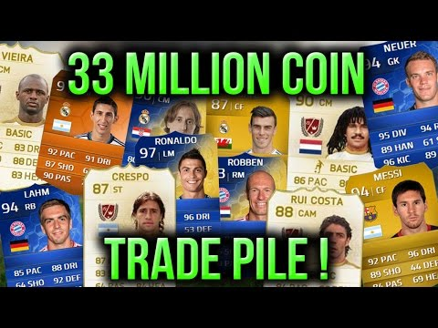 trade - WOW... Could this be the best trade pile on Ultimate Team, 33 million coins is its value but if i had all those players and sold them now it would be worth more than 50 million ! ▻Cheap Reliable...