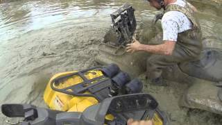 10. Griffin Performance can am outlander 400 running down grizzly 700 nitrous & turbo not needed