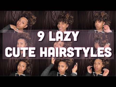 9 LAZY CUTE CURLY HAIRSTYLES FOR SHORT/MEDIUM HAIR  KDiani