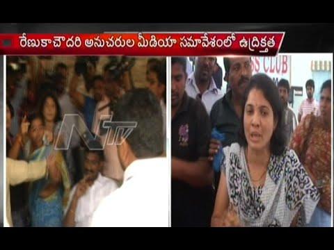 DrRamji Nayak Wife Slapped Renuka Chowdhury Follower with Slipper