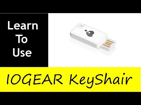USE YOUR KEYBOARD WITH YOUR IPAD/IPHONE/ANDROID PHONE   IOGEAR KeyShair Turtoriol