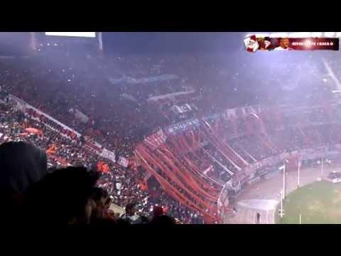 Video - PARA SER CAMPEON + SOY DE RIVER - River Plate vs Boca Jrs - Copa Libertadores 2015 - Los Borrachos del Tablón - River Plate - Argentina