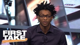 Top 2017 NBA Draft prospect De'Aaron Fox joins First Take with Stephen A. Smith, Max Kellerman and Molly Qerim. Watch ESPN...