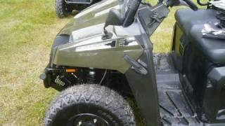 8. 2011 Polaris Ranger EV LSV