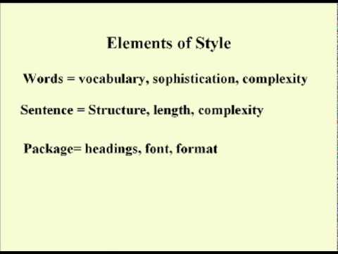 ENG 352 Technical Writing - 22 - Mood and Style