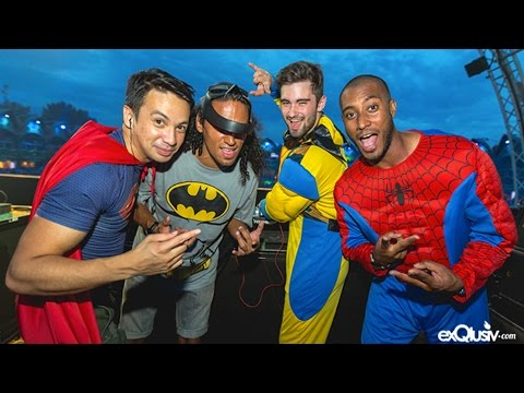 Superhero Set @ Tomorrowland 2014 - Super You&Me stage