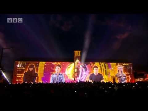 Radio 1's Big Weekend Video Mapping