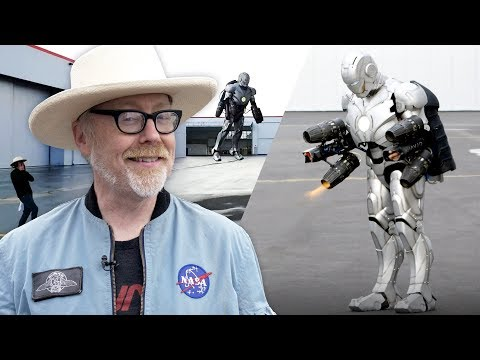 Adam Savage Built a Real Iron Man Suit That Flies