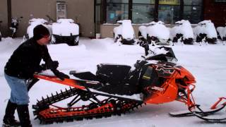 10. 2014 Arctic Cat Snowmobiles ON SALE at POWER WORLD - M 8000 Limited ES 153 162 ZR120