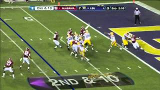 Nico Johnson vs LSU (2012)