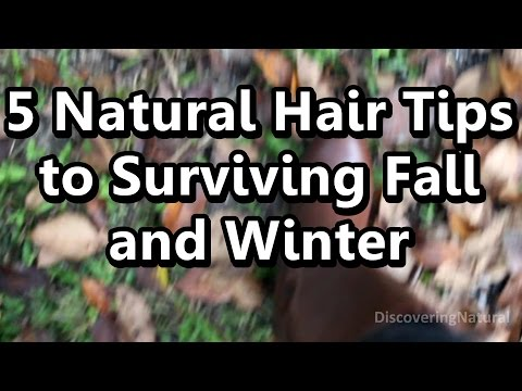 How to Care for Natural Hair in Fall and Winter : 5 Tips To Help Survive Fall and Winter